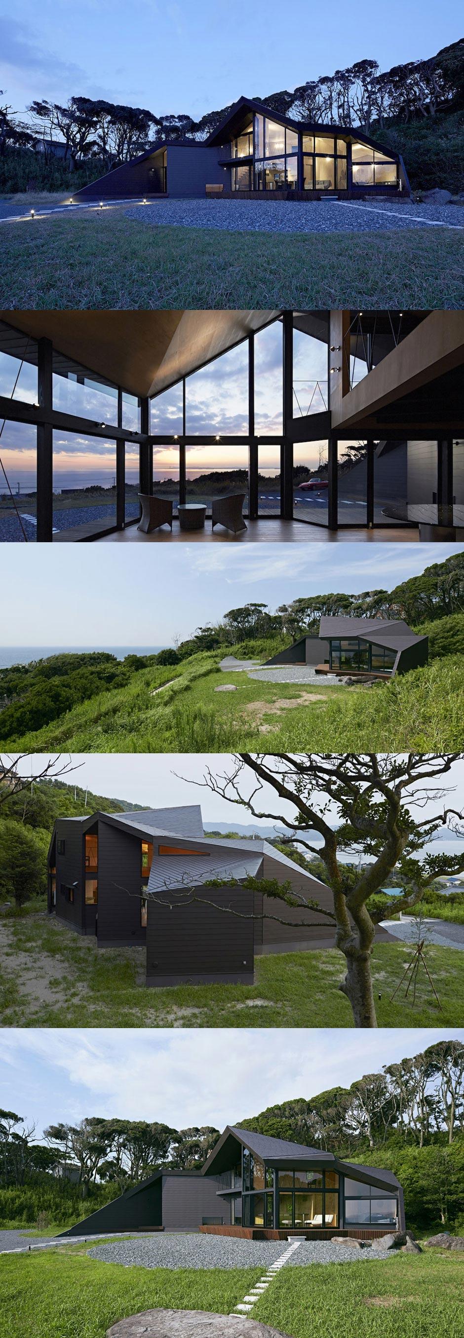 Landhaus unregelmäßige Form