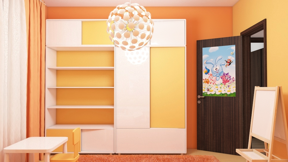 apartment interior design children's room