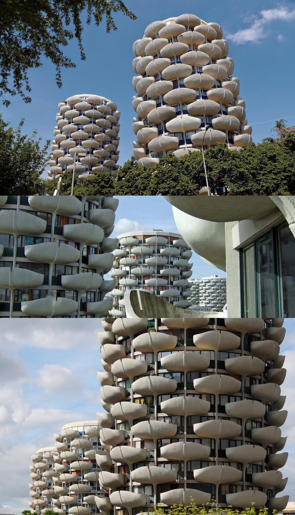 Дизайн многоэтажных домов