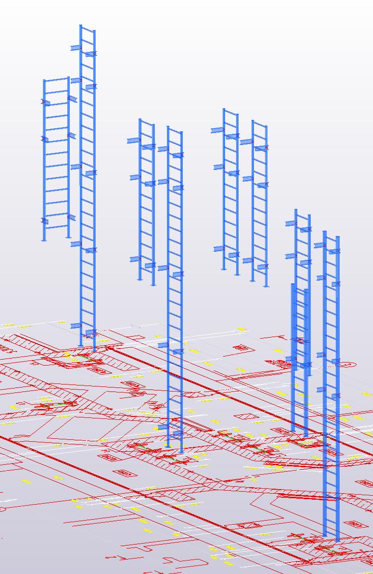 حساب وتصميم هياكل المباني